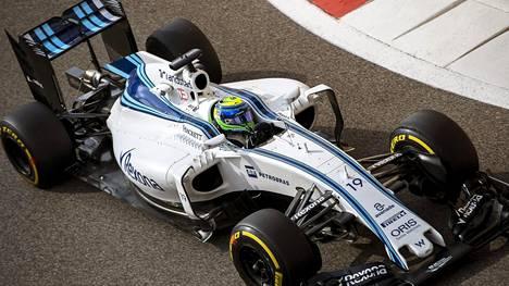 Felipe Massa on jatkamassa Williamsilla.