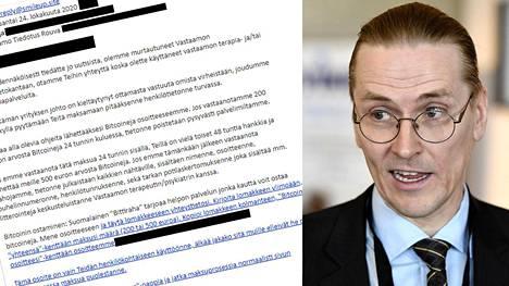 Jokaiselle kiristetylle on tehty yksilöllinen bitcoin-lompakko. Mikko Hyppönen pyytää niistä tietoa lunnaat maksaneilta.