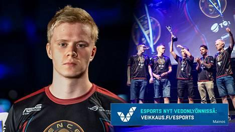 Jani Jussila pelaa Counter-Strikea ENCE-joukkueessa, joka on pelin hallitseva Suomen mestari.