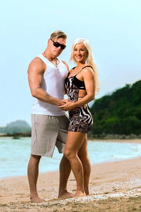 Aki ja Rita tulivat tutuiksi Temptation Island -ohjelmasta.