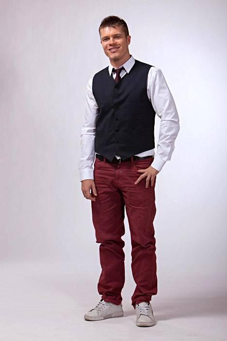 Markus Mäntykangas on meteorologina MTV:llä.