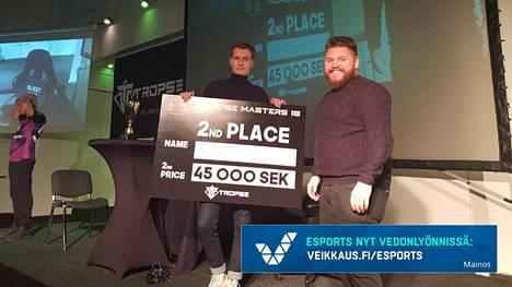 Eemeli Simpanen voitti Ruotsista kisapaikan Amsterdamiin ja reilut 4000 euroa palkintorahaa.