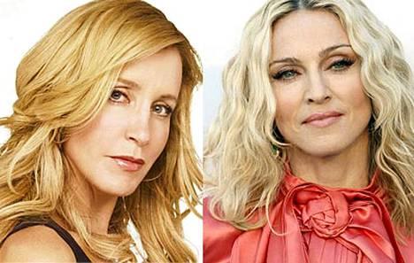 Felicity Huffman löysi pukuhuoneestaan itsensä Madonnan alushousut.