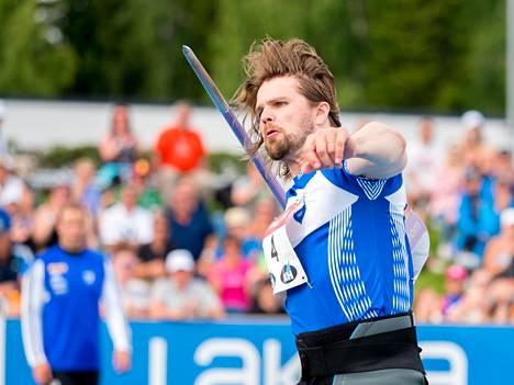 Harri Haatainen edusti Suomea MM-kisoissa jo vuonna 1999. Kuva viime vuoden Kalevan kisoista.