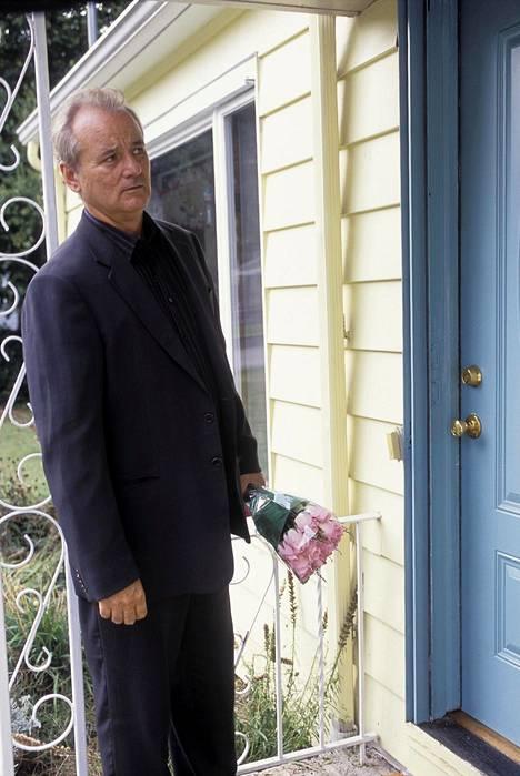 Bill Murray ikääntyvän naistenmiehen roolissa.