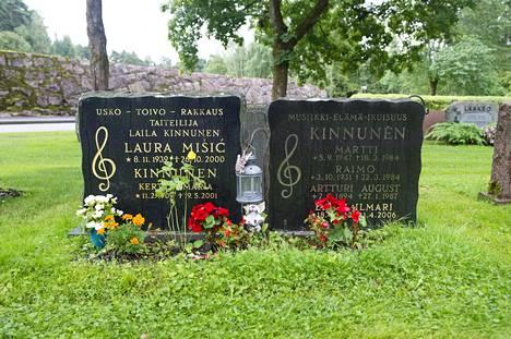 Laila Kinnunen oli kuollessaan Laila Misic.
