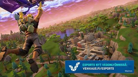 Epic Games haluaa Fortnitesta merkittävän kilpapelin.