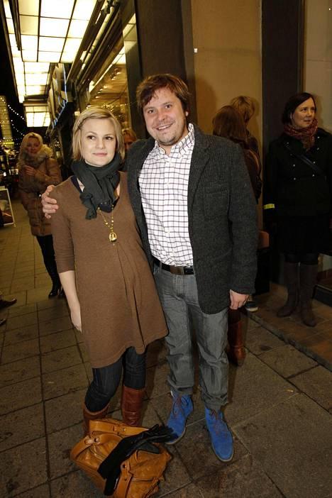 Ulla ja Janne vuonna 2011.