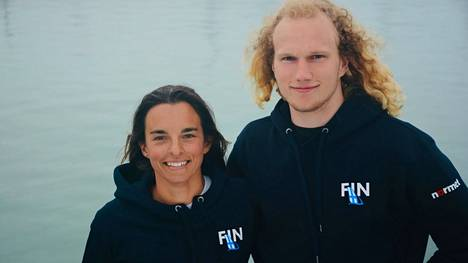Sinem Kurtbay ja Akseli Keskinen osallistuvat Tokiossa Nacra-luokan olympiapurjehdukseen Suomen puhutuimmalla veneellä.