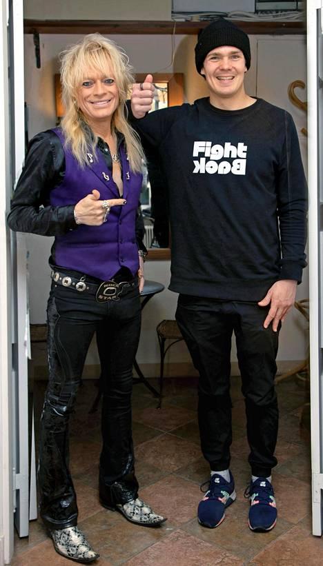 Michael Monroella ja Pekka Hyysalolla synkkasi heti ensitapaamisella.