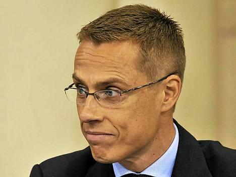 Eurooppaministeri Alexander Stubb.