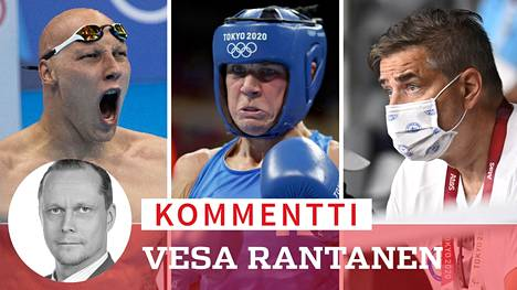 Matti Mattsson ja Mira Potkonen voittivat ainoina suomalaisina mitaleja. Huippu-urheilujohtaja Mika Lehtimäki (oik.) pitää Suomen suoritusta erinomaisena.