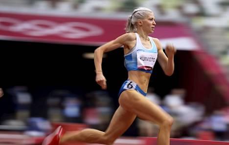 Sara Kuiviston upeat suoritukset Tokiossa voivat vaikuttaa suomalaisen keskimatkojen juoksun tasoon positiivisesti.