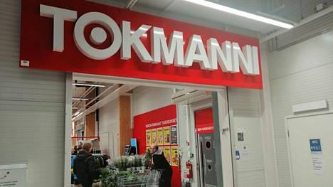 Tokmanni-ketjun myymälä Keuruulla.