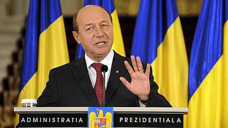 Romanian presidentti Traian Basescu on pidätetty virastaan.