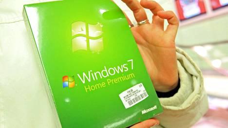 Vuonna 2009 julkaistu Windows 7 sai tukea noin kymmenen vuotta.