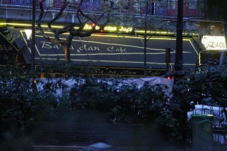 Bataclan on suosittu keikkapaikka Pariisissa.