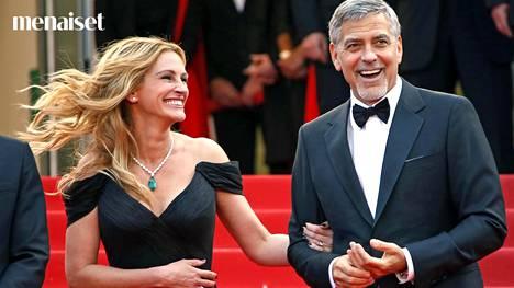 Kyllähän se kelpaisi, Julia Robertsin tai George Clooneyn hammasrivistö nimittäin.