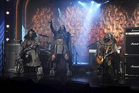 Lordi esiintyi Conan OBrienin showssa.