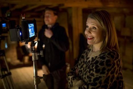Alli Haapasalo on yksi Eristyksissä-sarjan ohjaajista. Kuva on maaliskuulta 2019 Nyrkki-sarjan kuvauksista.