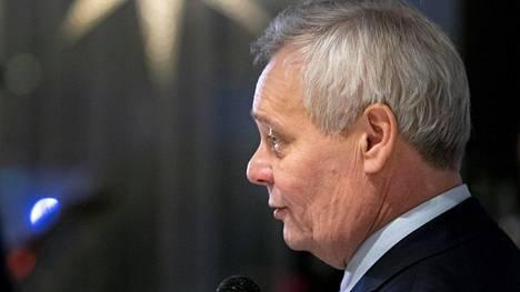 Antti Rinne arkistokuvassa.