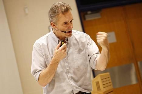 Kanadalainen psykologi Jordan Peterson.