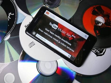 Myös Youtube on pyrkinyt suoratoistomarkkinoille Music Key -palvelullaan.