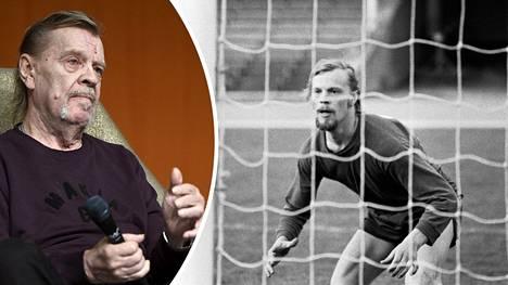 Näyttelijäsuuruus Vesa-Matti Loiri pelasi jalkapalloa HJK:ssa 1970-luvun alussa. Nyt hän odottaa kuumeisesti Huuhkajien EM-huuman alkua.