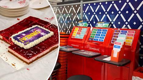 K-Supermarket Herkkupata järjesti elokuussa asiakkailleen kakkutarjoilun pian voittouutisten jälkeen.