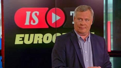 ISTV:n Eurogrillissä Antti Rinne