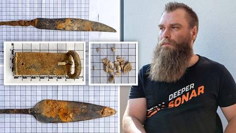 Kihniöstä löytyi heinäkuussa solki, väkipuukko, luunpalasia ja keihäänkärki. Löydöt ovat peräisin rautakaudelta.