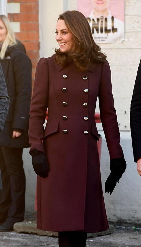 Herttuatar Catherine Oslossa helmikuussa 2018.