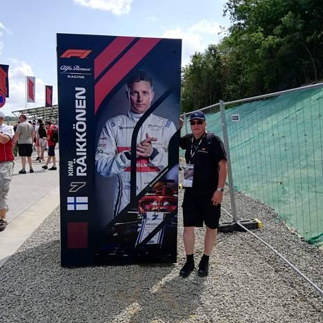 Hungaroringin rata on tullut tutuksi vantaalaiselle Arto Kurjelle. Kuva kesältä 2019.