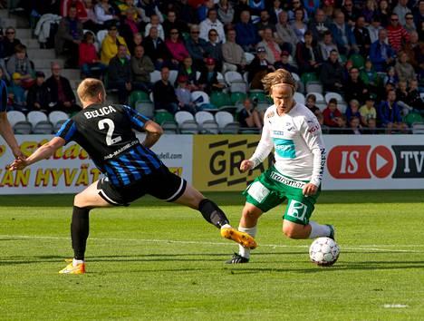 Forsell etsi pitkään paikkaansa Suomessa ja kukoisti lopulta IFK Mariehamnin vasemmalla laidalla.
