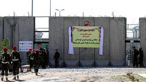 Parwanin vankila luovutettiin Afganistanin hallinnon vastuulle viime vuoden maaliskuussa.