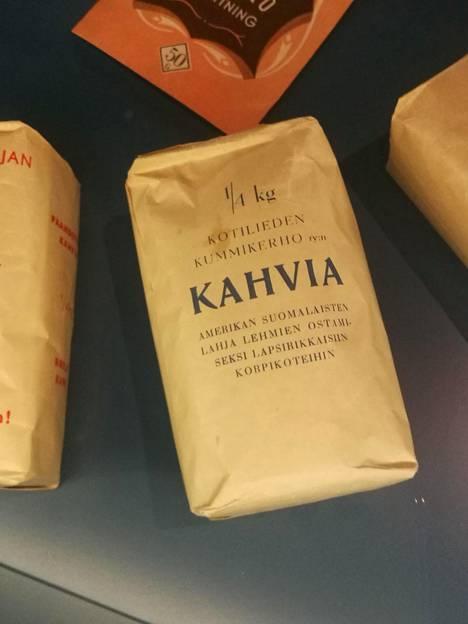Pauligin museossa on pakkauksia sota-ajoilta.