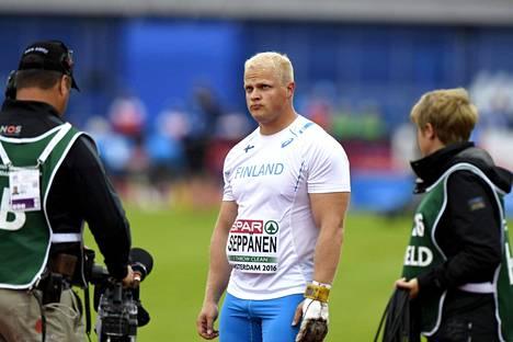 Tuomas Seppänen joutui pettymään, kun olympiapaikka meni sivu suun muun muassa iranilaisten viime hetken tulosparannusten myötä.