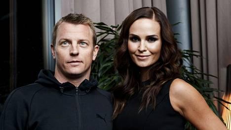 Kimi ja Minttu Räikkönen kuvattuna vuonna 2018.