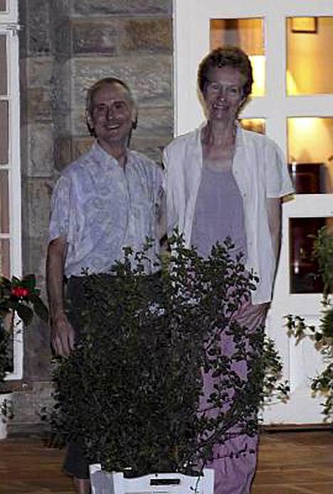 Paul ja Rachel Chandler iloitsivat vapaudestaan.