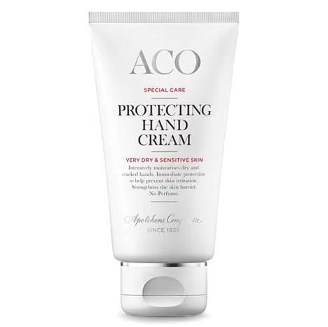 Acon käsivoide kosteuttaa ja suojaa ihoa. 8,60 € / 75 ml.