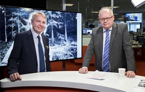 Vihreiden puheenjohtaja Pekka Haavisto oli tänään torstaina IS:n erikoistoimittaja Timo Haapalan tentattavana.