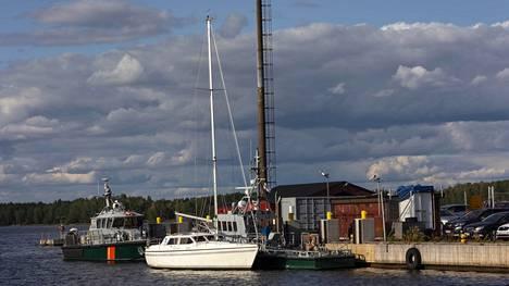 Varastetulla veneellä oli taitettu noin 600 kilometrin matka Tukholman läänistä Kotkaan.