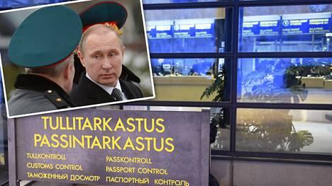 Venäjän presidentti Vladimir Putin on käskyttänyt turvallisuuspalvelu FSB:tä tiukentamaan kontrollia. Sallan rajanylityspaikalla Lapissa Putinin ohjeistuksen vaikutus ei ole vielä näkynyt.