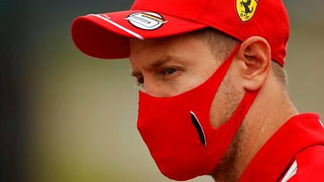 Sebastian Vettelin ja Ferrarin yhteistyö vaikuttaa hapokkaalta.