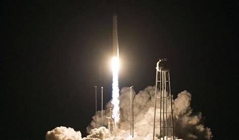 Cygnus laukaistiin matkjaan NASAn Virginiassa sijaitsevasta Wallops Flight Facility-tukikohdasta 17.11.2018.
