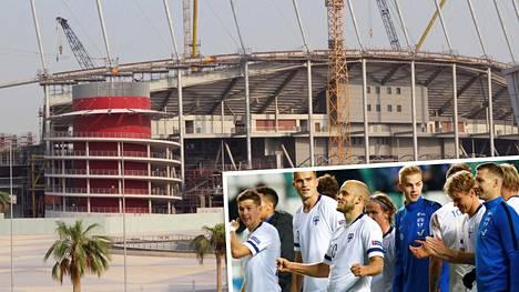 Suomen A-maajoukkue on lähdössä talvileirille Qatariin. Maan stadionrakennuksilta on uutisoitu ihmisoikeusongelmista.