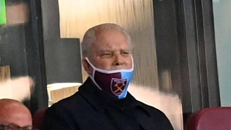 David Gold omistaa West Ham Unitedin yhdessä David Sullivanin kanssa.