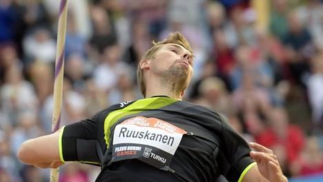 Antti Ruuskanen on kunnossa.