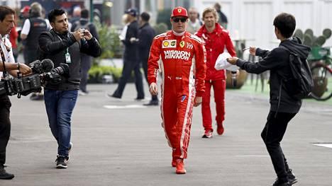 Kimi Räikkönen ei mielellään matkusta Euroopan ulkopuolelle.