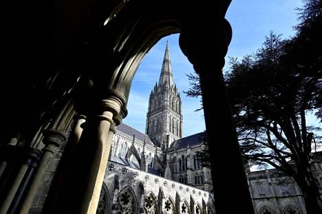 Miesten mukaan syynä heidän Britannian-matkaansa oli Salisburyn kuuluisa katedraali.